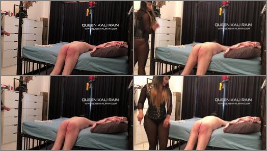 Whipping – Queen Kali Rain – Whipped a solid 10 strokes