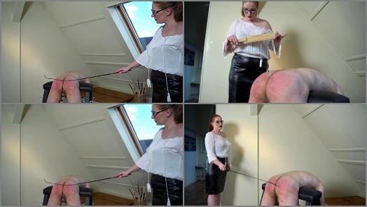 Caning – Sado Ladies – Broken Paddle – BRANDNEW –  Mistress Cloe