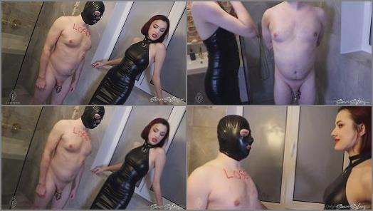 Small Penis Humiliation – Sin Sisters – Cuckoldress prepare herself for a date –  Lady Perse