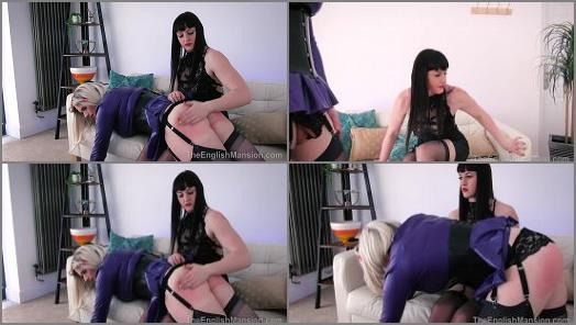 Paddling – The English Mansion – Earning Her Keep – Part 1 –  Miss Vivienne lAmour