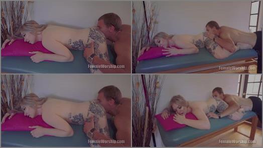 Uhd – Female Worship – Deep Ass Massage –  Kaiia Eve