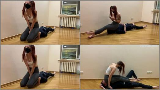 Watched – Petite Princess FemDom – Naughty Redhead Pigtailed Babe in Tight Leggings
