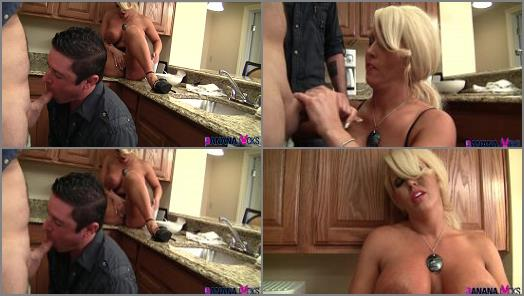 High Heels – Banana Jacks – Hubby's First Cock Suck, Cuckolding Wife Alura –  Alura Jenson