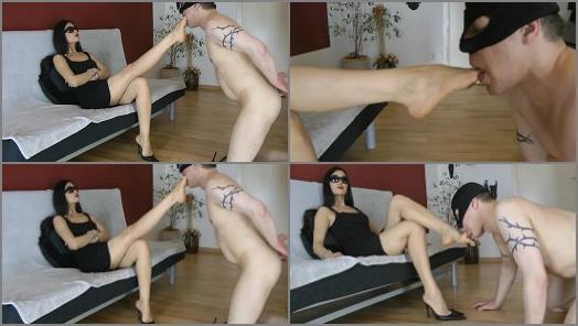 Foot Domination – Boot Heel Worship CBT Humiliation – Superior Goddess Worship –  Goddess Leyla