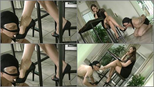 Shoe & Boot Worship – Boot Heel Worship CBT Humiliation – Where My Slave Belong –  Lady Iveta